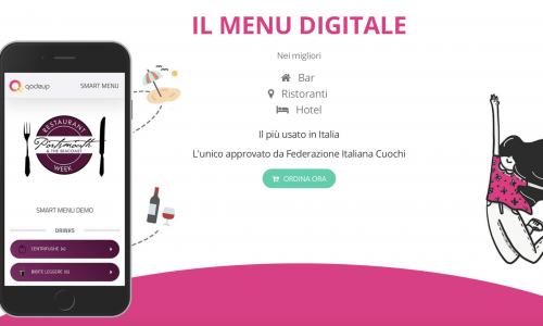 Qodeup il menu digitale